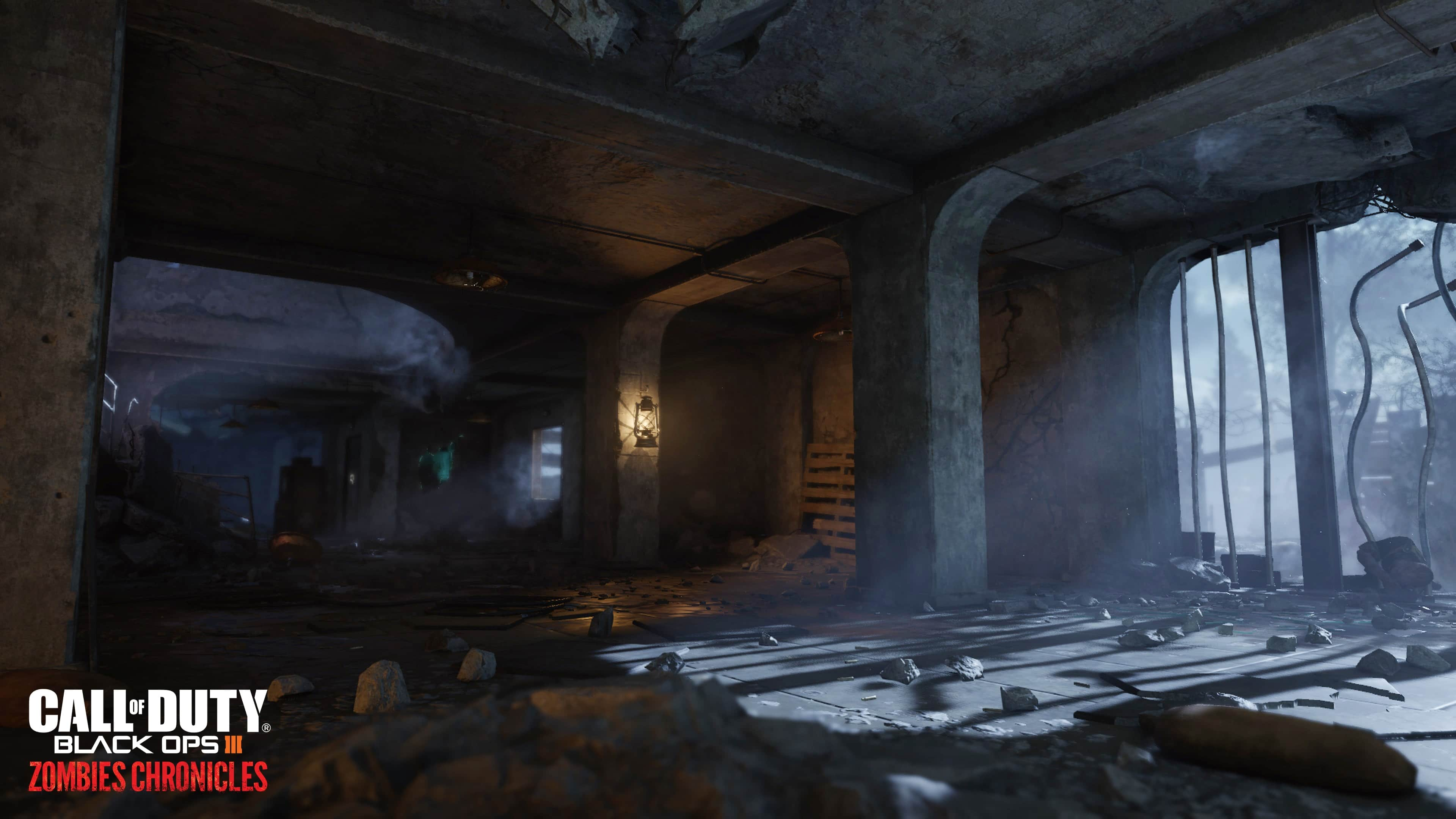Call of Duty Black Ops III Zombies Chronicles_Nacht Der Untoten map_environment shot