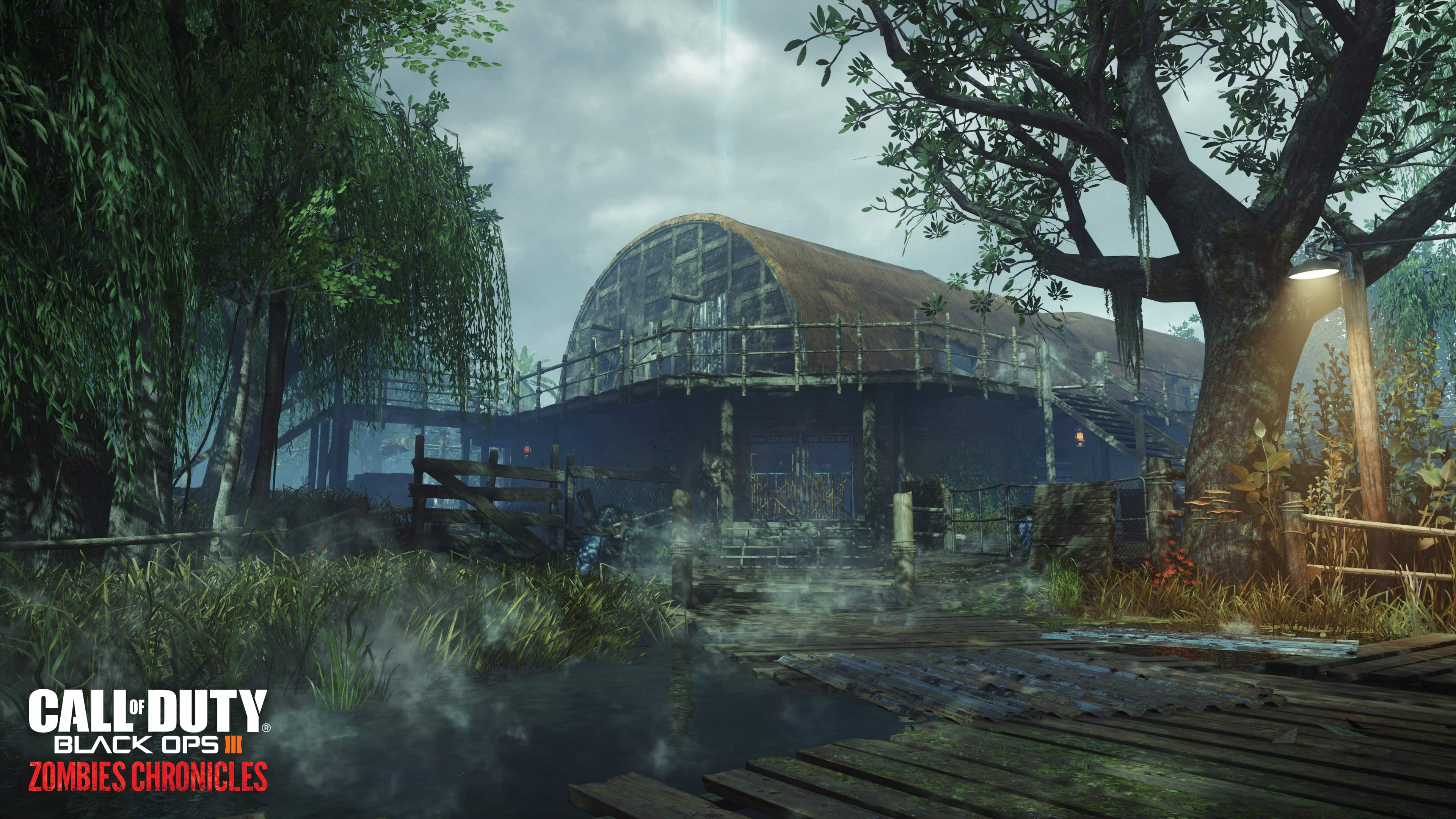 Call of Duty Black Ops III Zombies Chronicles_Shi No Numa map_environment shot