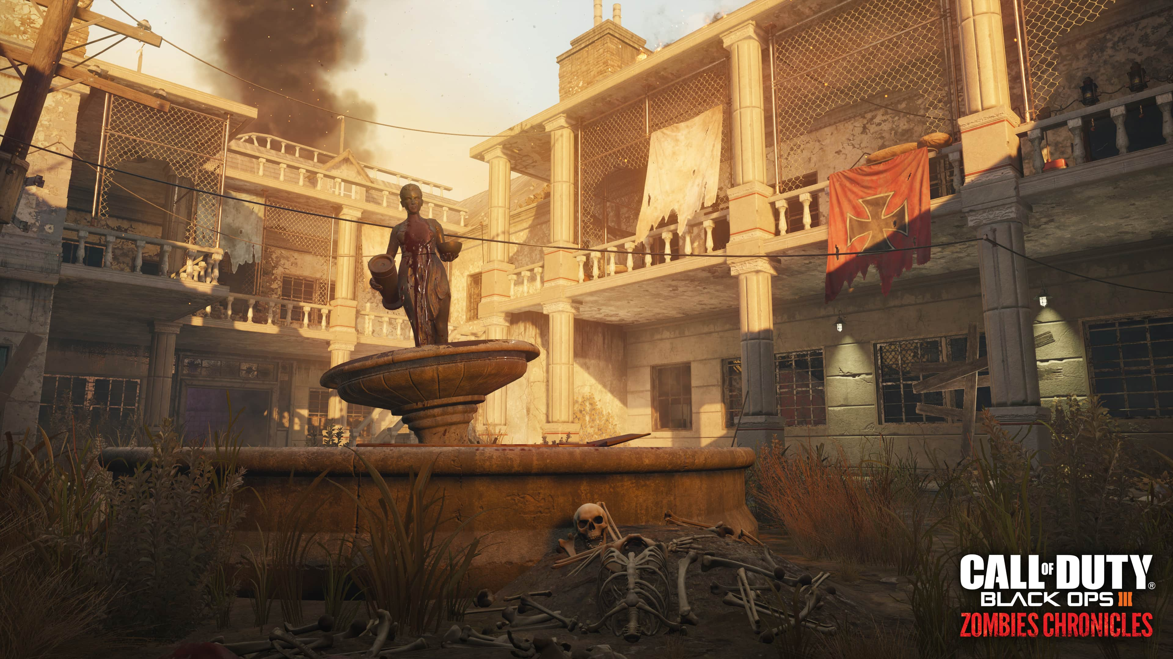 Call of Duty Black Ops III Zombies Chronicles_Verruckt map_environment shot