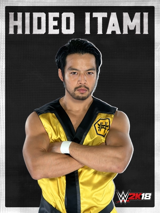 WWE2K18_ROSTER_HIDEO ITAMI