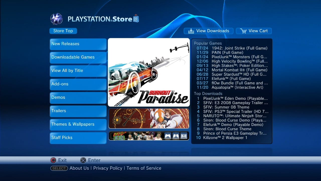 PS3 - Classic Playstation Store from 2008 restore | PSX-Place