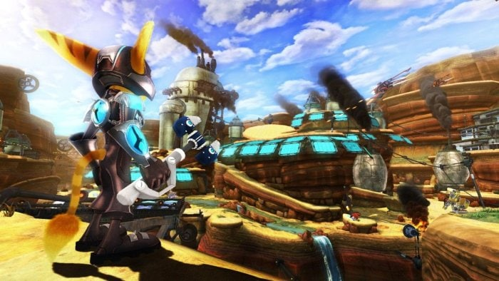 top 10: console platformers - Ratchet and Clank a crack in time - FYIG Top 10: Console Platformers