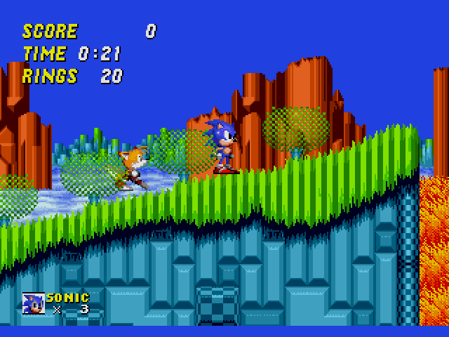 top 10: console platformers - Sonic the Hedgehog 2 - FYIG Top 10: Console Platformers