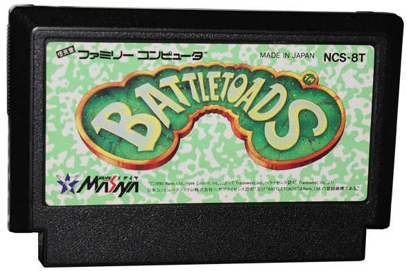 Battletoads cartridge