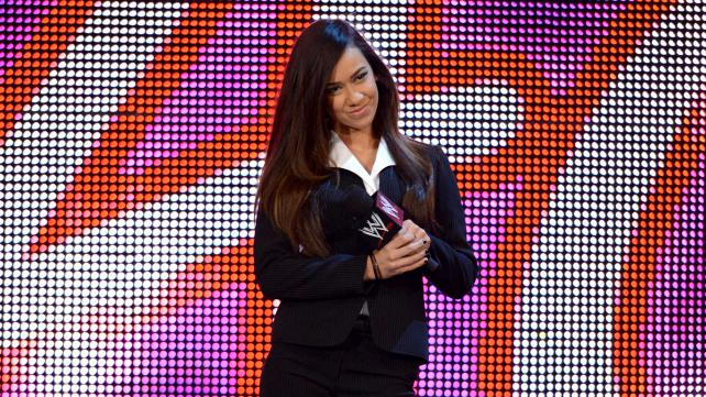 AJ is the new GM and she completely changed into Stephanie McMahon!