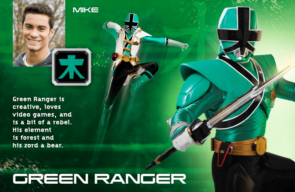 power rangers - Green Super Samurai Ranger power rangers super samurai 28922778 958 623 - DVD Review: Power Rangers Super Samurai Vol. 1 & 2 – The Super Powered Black Box & Super Showdown