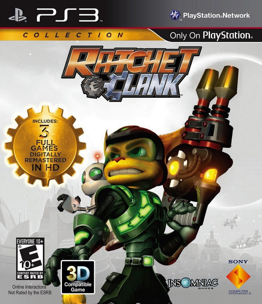 The Ratchet Clank Collection Review Find Your Inner Geek