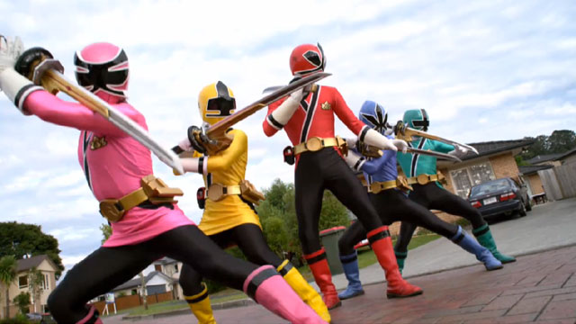power rangers - powerrangerssamurai201t - DVD Review: Power Rangers Super Samurai Vol. 1 & 2 – The Super Powered Black Box & Super Showdown