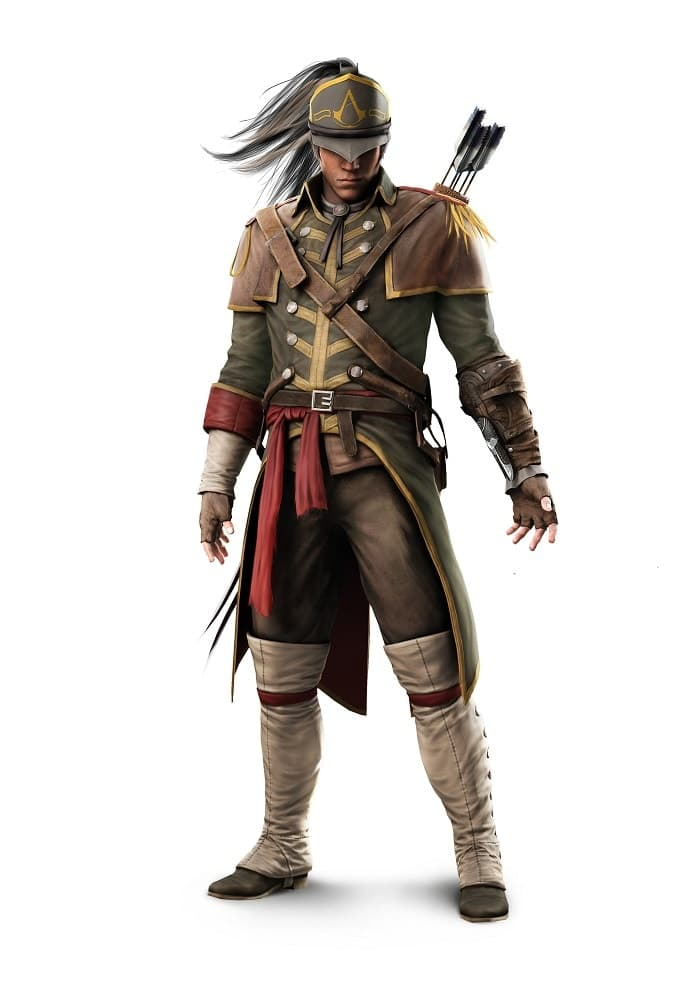 assassin's creed iii - AC3 Render SP 14 ULC ColonialAssassinOutfit - Assassin's Creed III – Canadian Pre-Order Bonuses