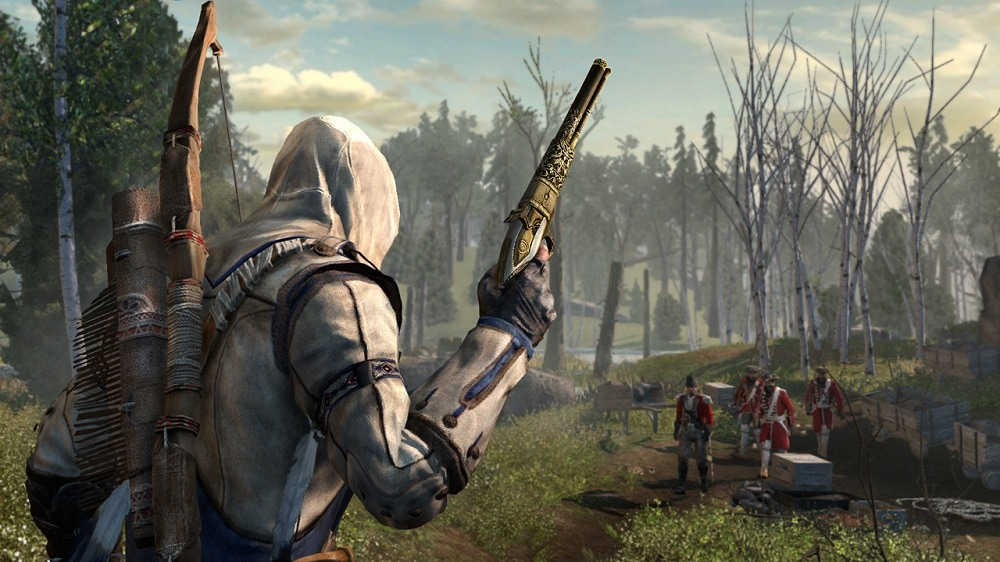 assassin's creed iii - AC3 SC SP 39 SD ULC ScottishFlintlock - Assassin's Creed III – Canadian Pre-Order Bonuses