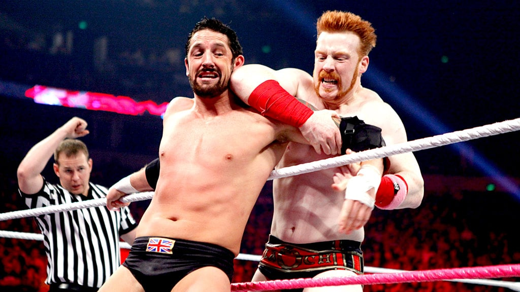 this week in wwe - 20121015 raw sheamus barrett - This Week in WWE #13 – Cesaro, Ryback, Kofi, Heyman, Punk & More