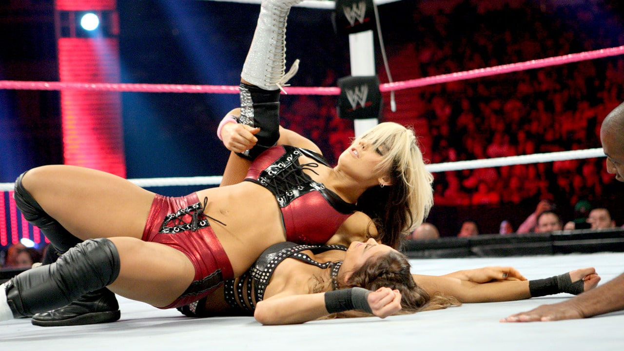 Unfortunately, this was probably the only good moment for Kaitlyn in a one-sided loss for the developing Diva.