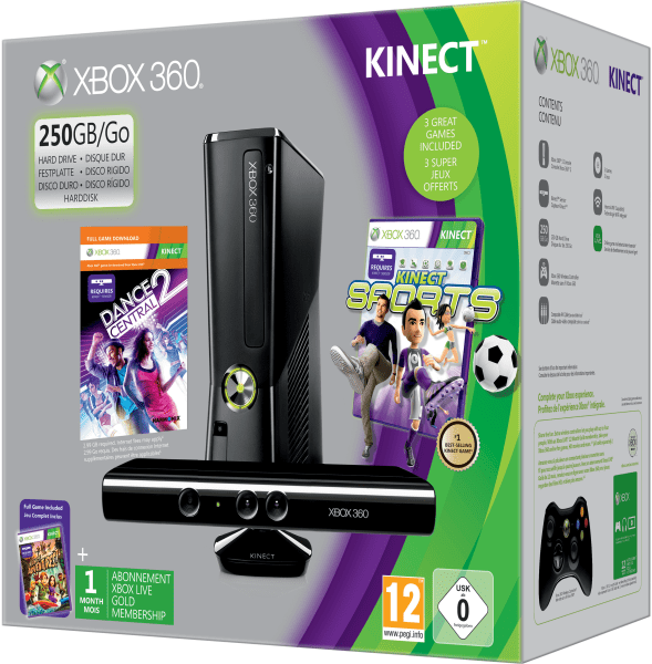 xbox 360 - xbox 360 holiday bundle 2012 2 - Xbox 360 Gets a $50 Price Drop, New Holiday Bundles
