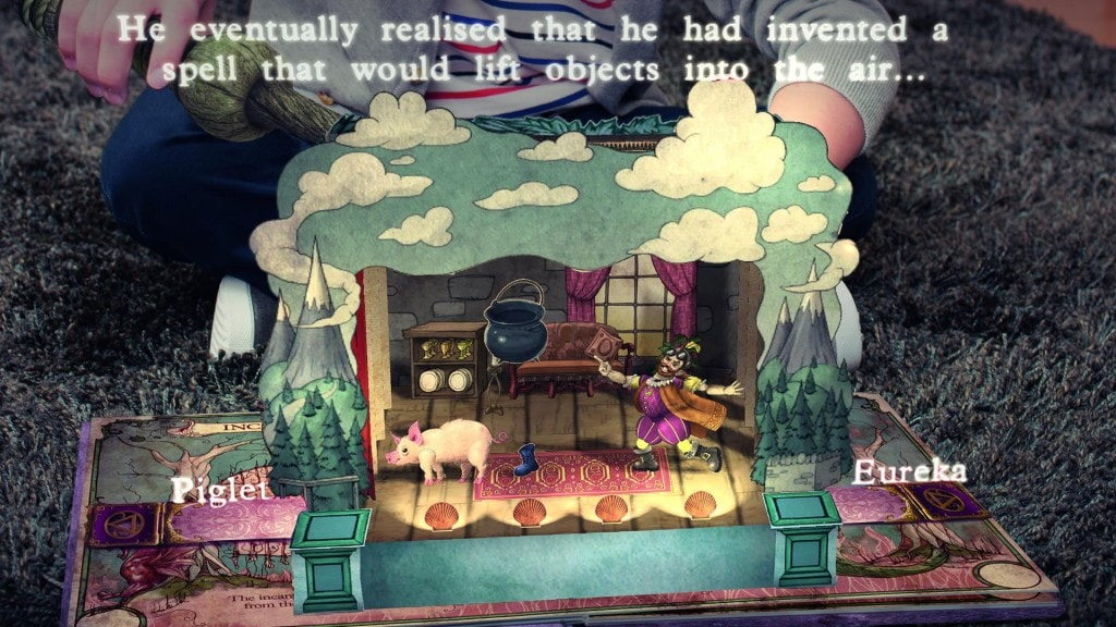 book of spells review - Book of Spells Clouds theatre 1024x576 - Game Review: Book of Spells