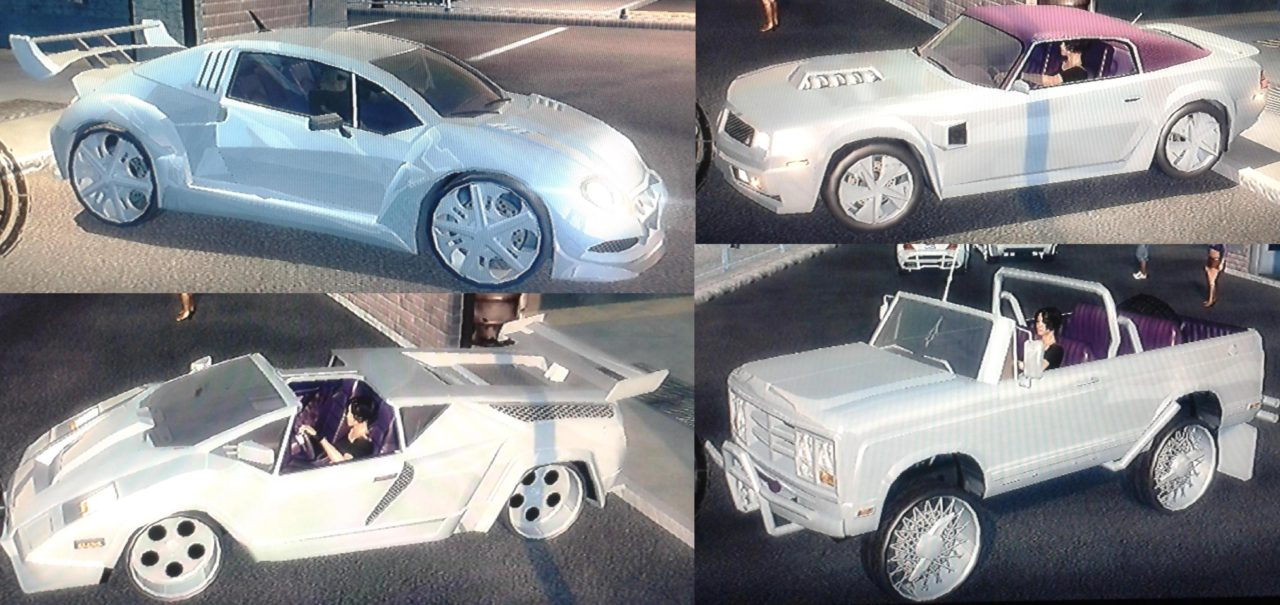 A (small) selection of my rides... saints row 2 review - Pimped up rides 2 - Saints Row 2 Review