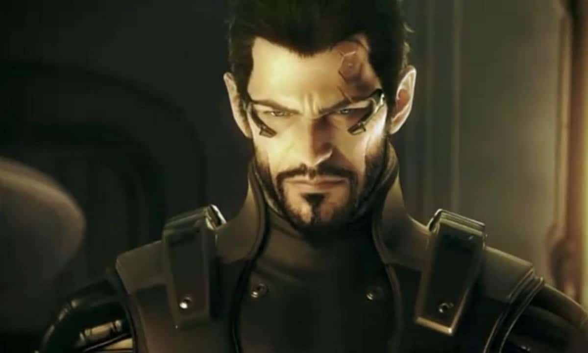 He didn't ask for this... (sorry I couldn't help it...) men in gaming - 2DeusExHumanRevolution AdamJensen - My most mmm…memorable men in gaming. Part 3 – Just plain hot.