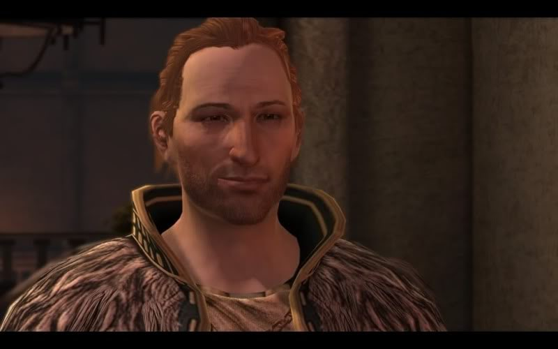 Are you flirting Anders? Surely not... men of thedas - AndersSmirk - My most mmm…memorable men in gaming – Part 1 – The men of Thedas