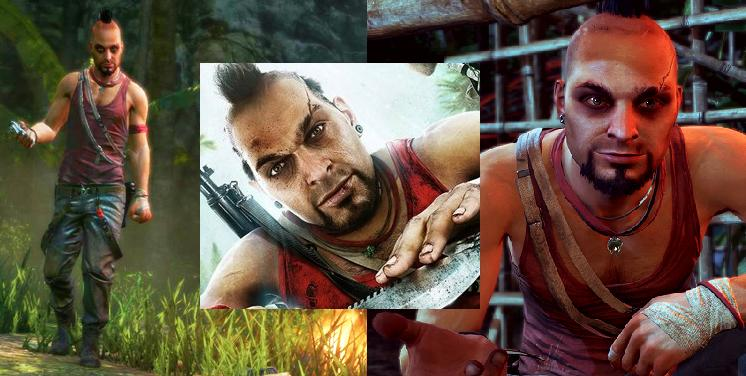 Just...phwa...I can't even...*swoon* men in gaming - Vaas - My most mmm…memorable men in gaming. Part 3 – Just plain hot.