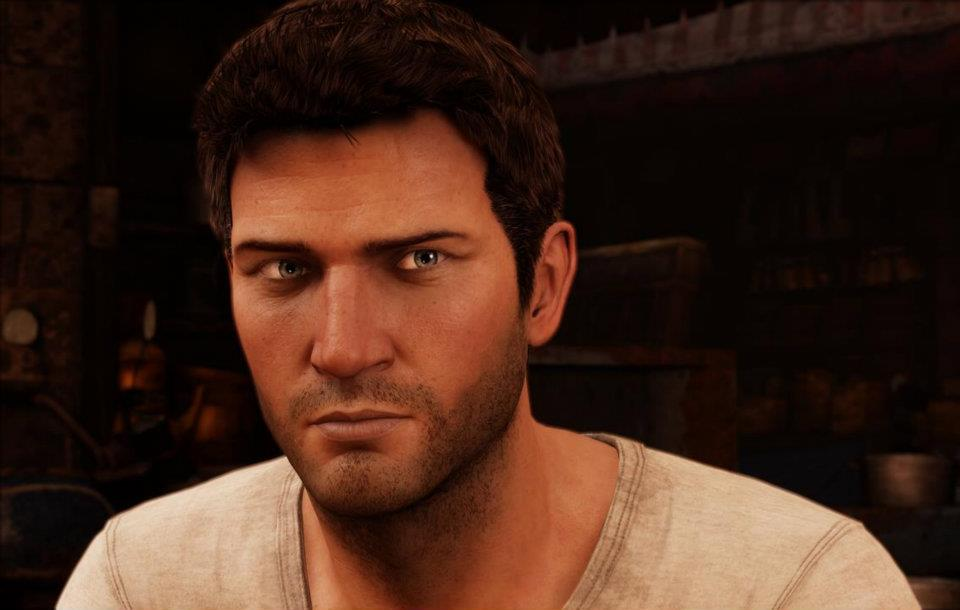 Hello handsome.... men in gaming - nathan drake up close - My most mmm…memorable men in gaming. Part 3 – Just plain hot.