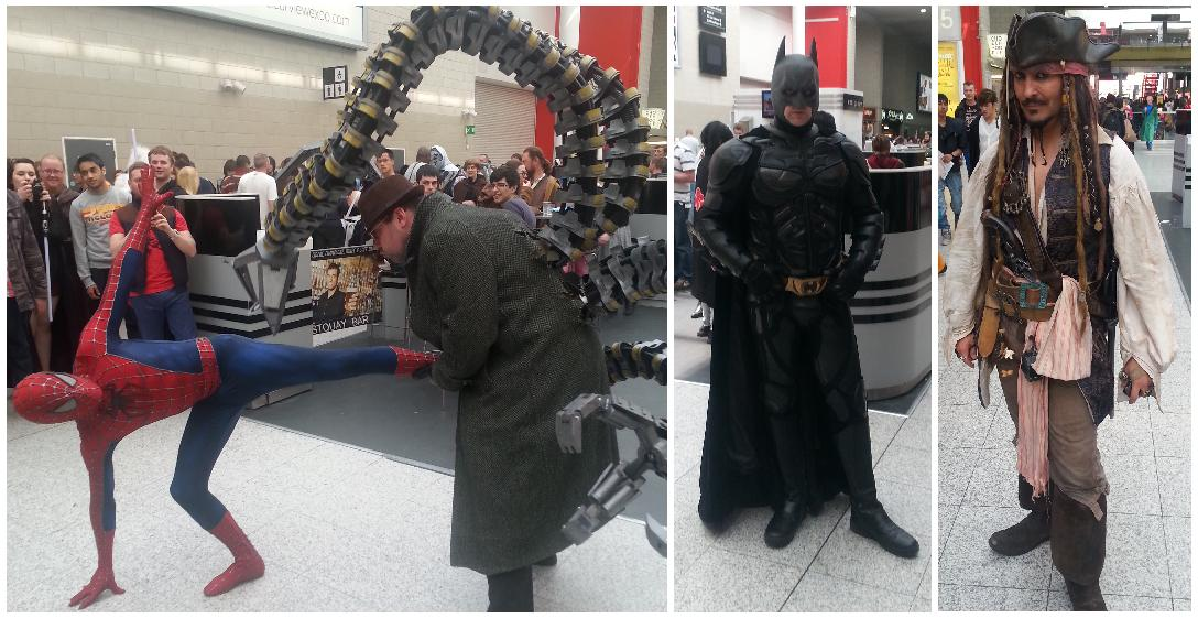 spidbatjack mcm london - spidbatjack - MCM London…By a Comic-Con Virgin