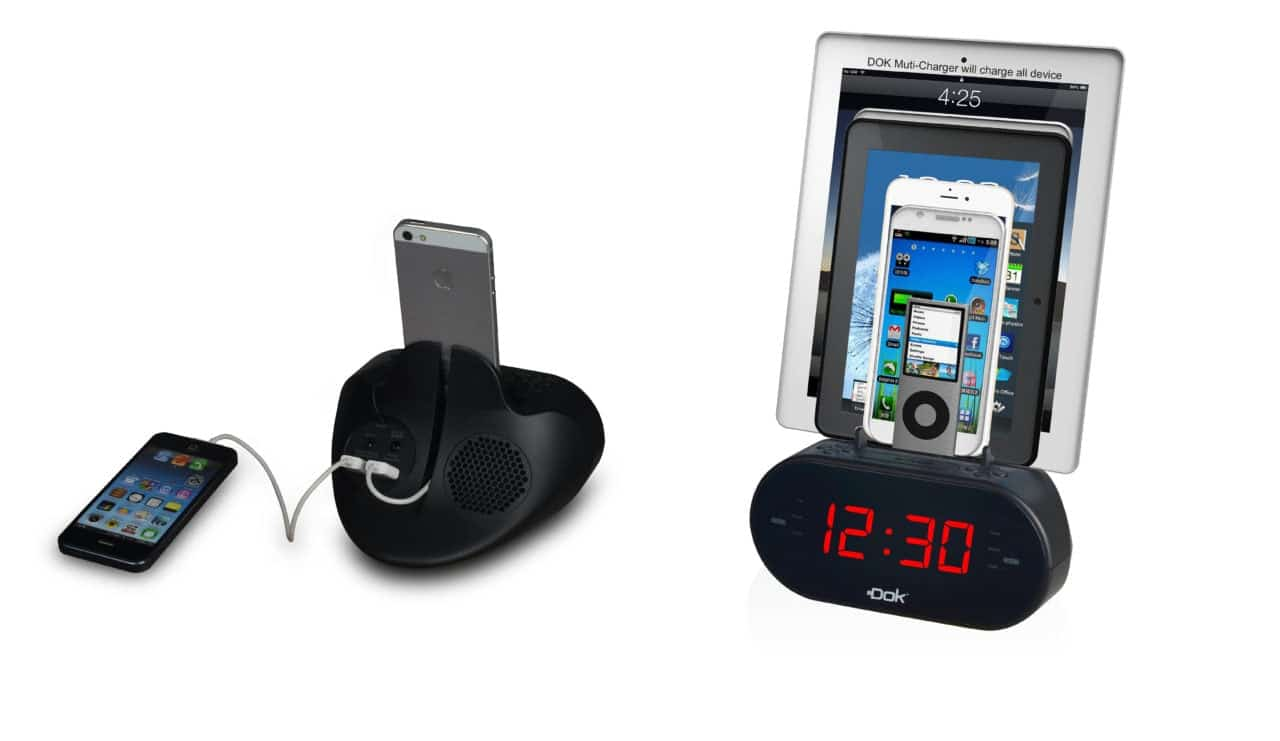 Easy-Doks CR09 small cr09 - Easy Doks CR09 small - Dok Unveils CR09 2-Device Charger/Dock/Cradle