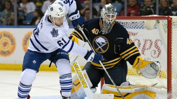 Connor Brown has been a constant around the goal for the Leafs this Pre-Season. Photo credit: ctvnews.ca
