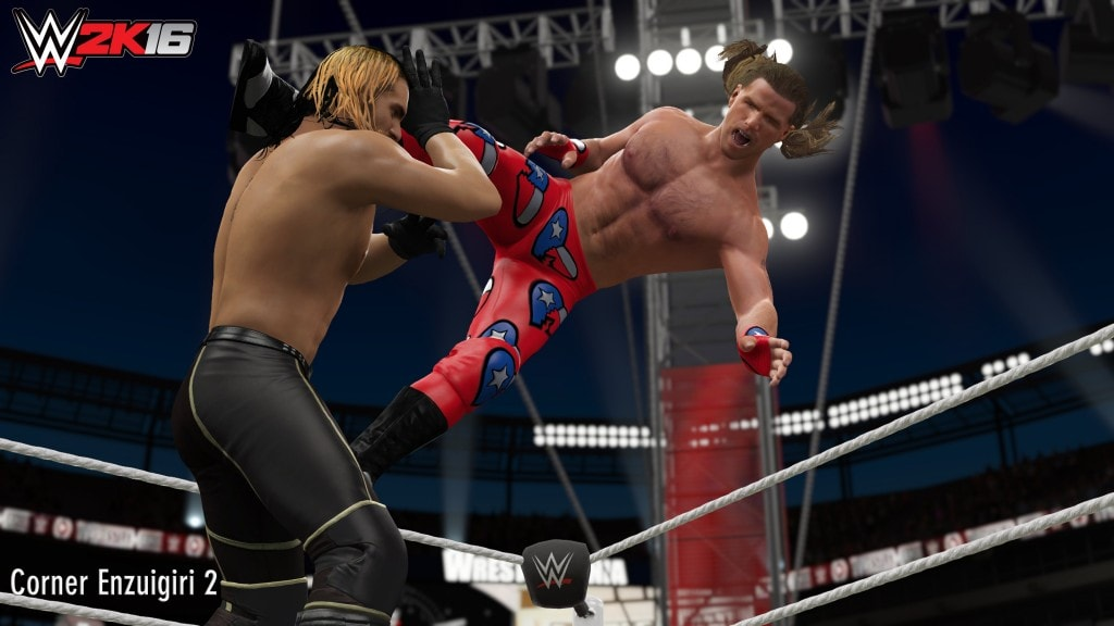 wwe 2k16 wwe 2k16 - Corner Enzuigiri min 1024x576 - WWE 2K16 – New Moves Pack Available Now
