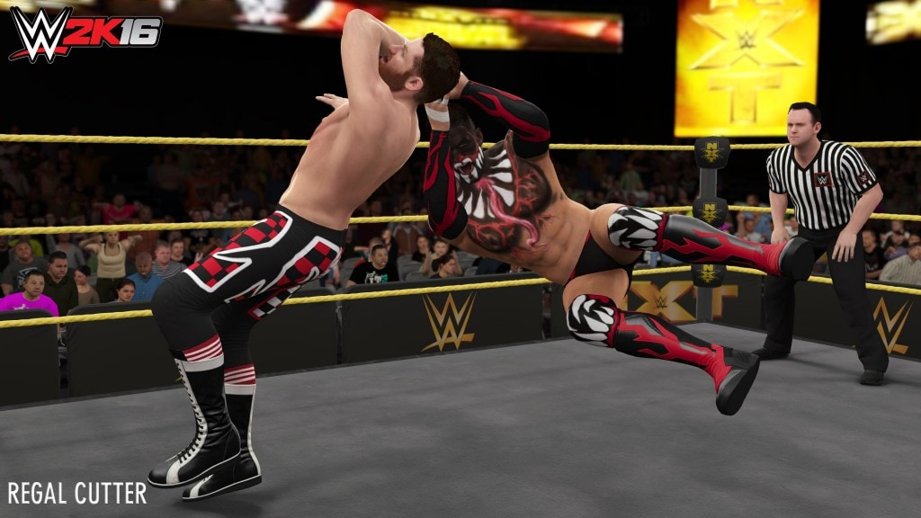 wwe 2k16 wwe 2k16 - Regal Cutter min 1024x576 - WWE 2K16 – New Moves Pack Available Now