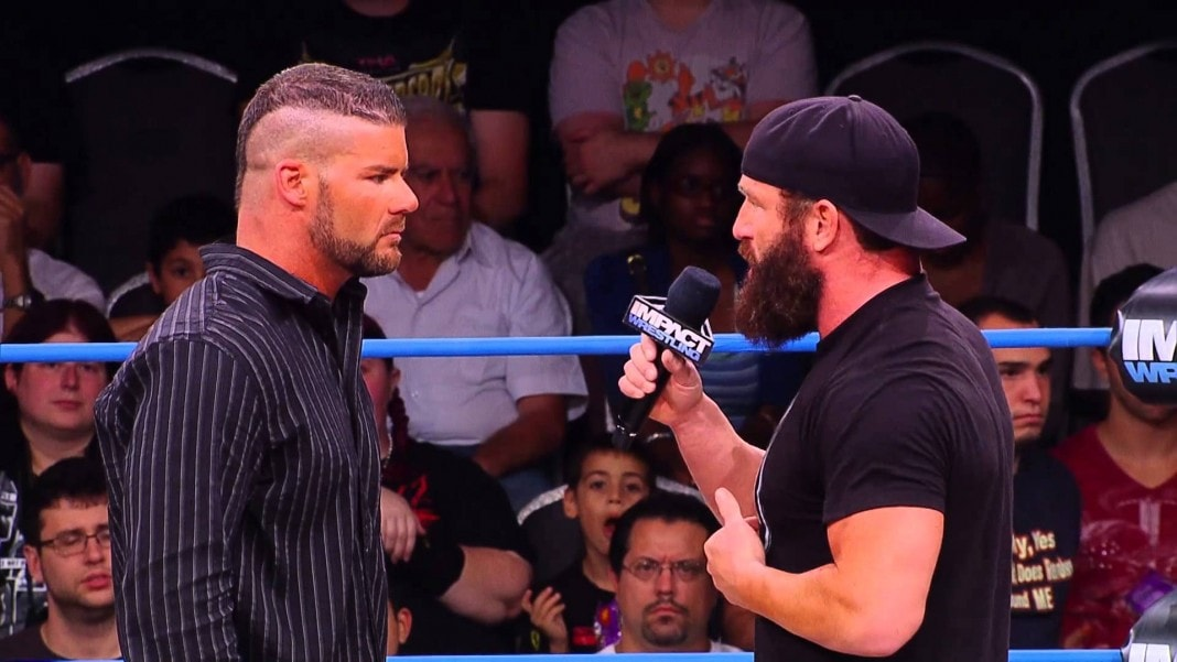 Bobby Roode and Eric Young