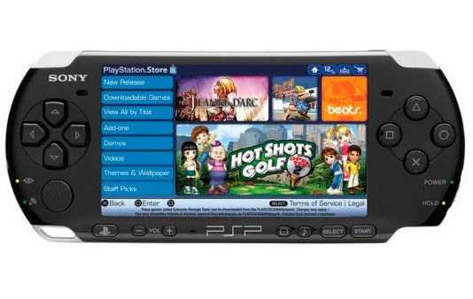 playstation store on psp
