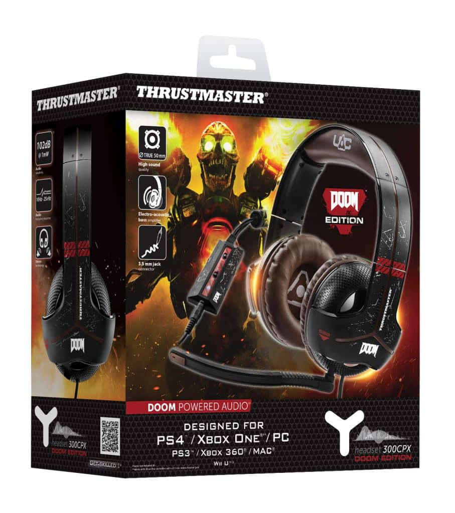 PackshotY300CPX_DoomEdition y-350x - PackshotY300CPX DoomEdition 907x1024 - Thrustmaster Introduces New Doom Edition Headset & Power Pack for Xbox One & PC