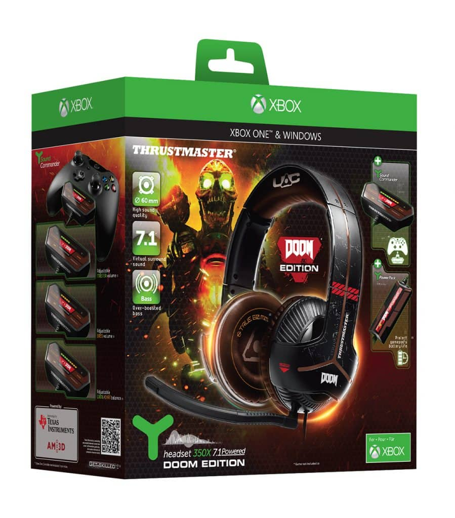 PackshotY350X_DoomEdition y-350x - PackshotY350X DoomEdition 899x1024 - Thrustmaster Introduces New Doom Edition Headset & Power Pack for Xbox One & PC