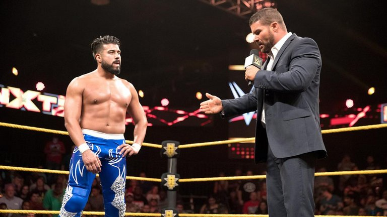 nxt (8/10/2016) nxt (8/10/2016) - bobby roode andrade almas wwe nxt 3762321 - This Week in WWE – NXT (8/10/2016)