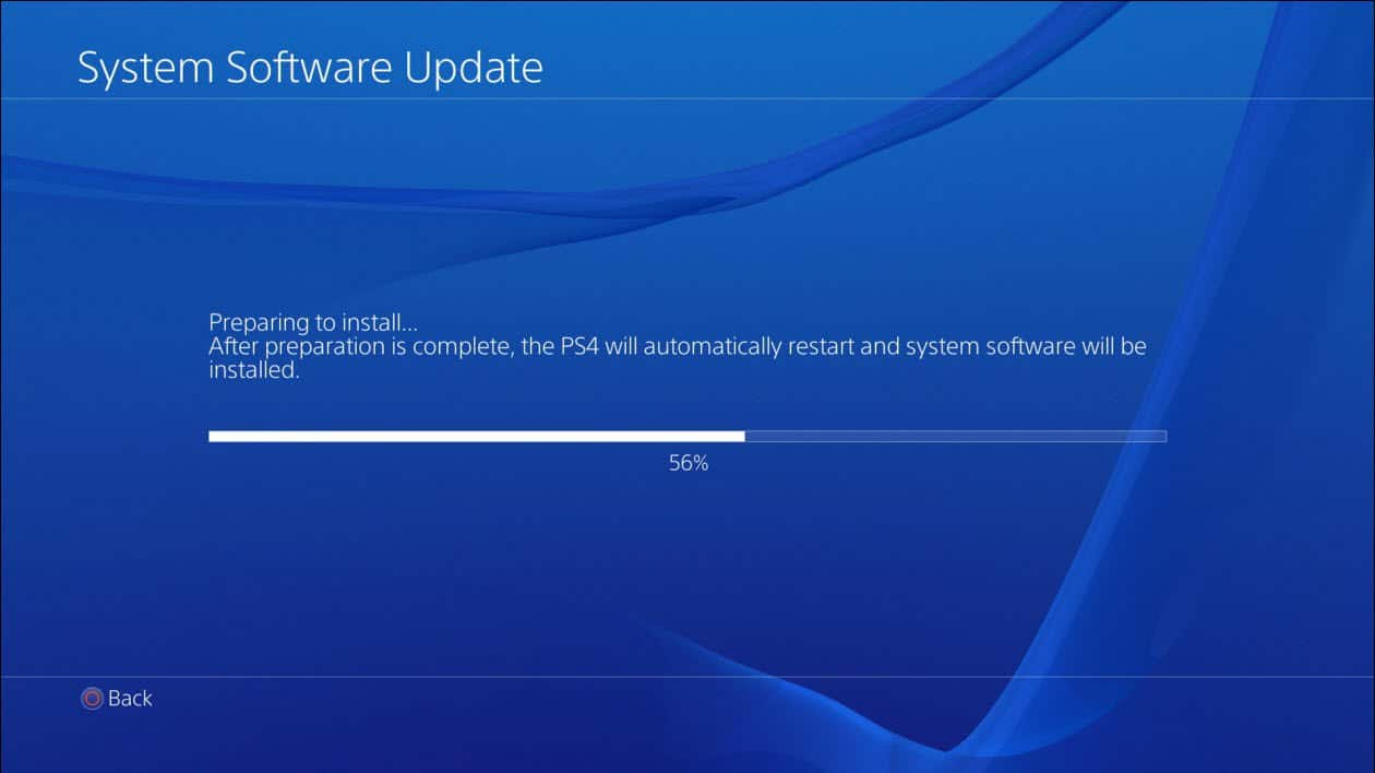 ps4 system software