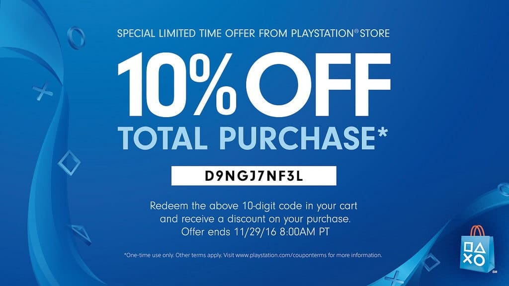 PlayStation Store Coupon playstation na store update - 31165695555 faeaaab0ee b 1024x576 - PlayStation NA Store Update 11/22/2016 – Black Friday Sale
