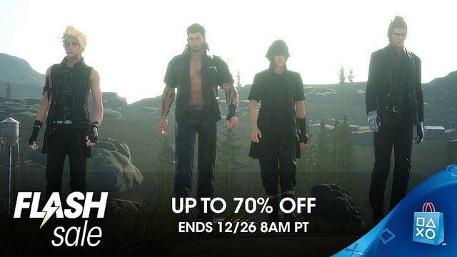 PlayStation Store December Flash Sale