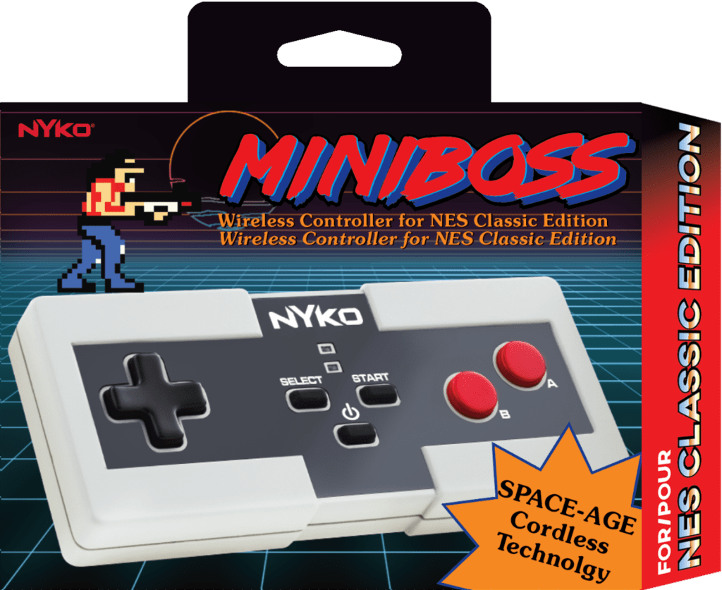 Wireless Miniboss Controller miniboss wireless controller - Minboss package 1024x837 - Nyko Miniboss Wireless Controller for NES Classic Edition Now Available