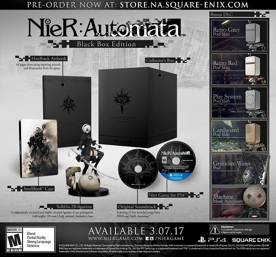 nier: automata nier: automata - unnamed 1 - NieR: Automata Coming March 7th