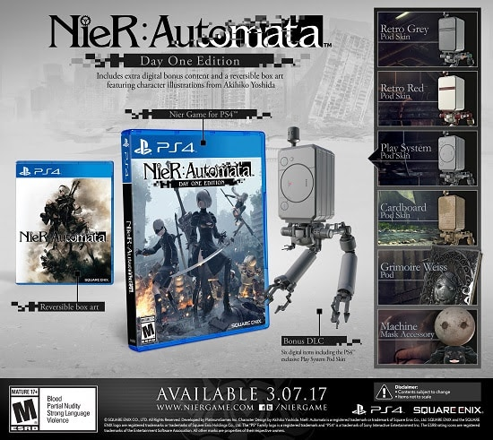 Nier: Automata nier: automata - unnamed - NieR: Automata Coming March 7th