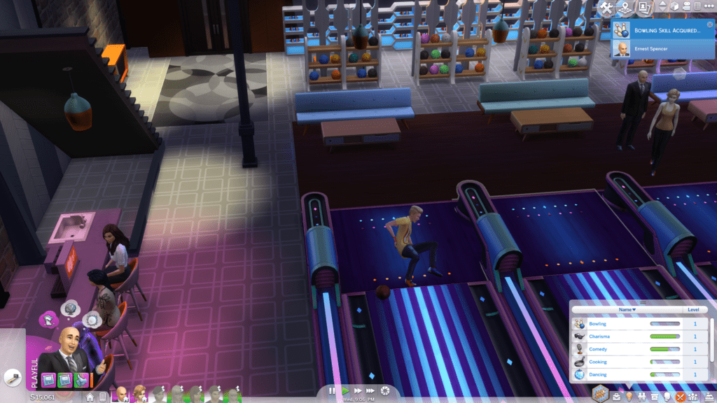 The Sims 4 Bowling Night Stuff Review
