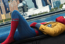 A young Peter Parker/Spider-Man (Tom Holland), who made his sensational debut in Captain America: Civil War, begins to navigate his newfound identity as the web-slinging superhero in Spider-Man: Homecoming.