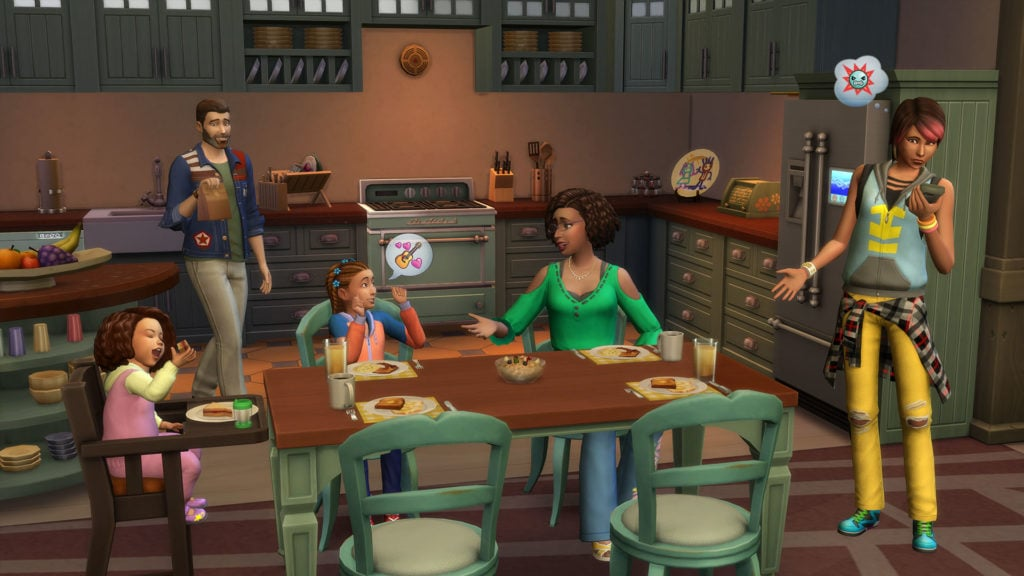 The Sims 4 Parenthood Game Pack