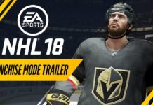 NHL 18 Franchise Mode