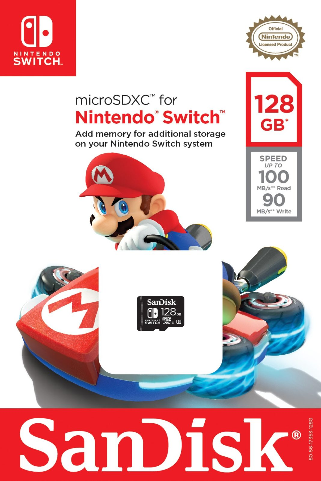 Nintendo Switch SanDisk Memory Cards