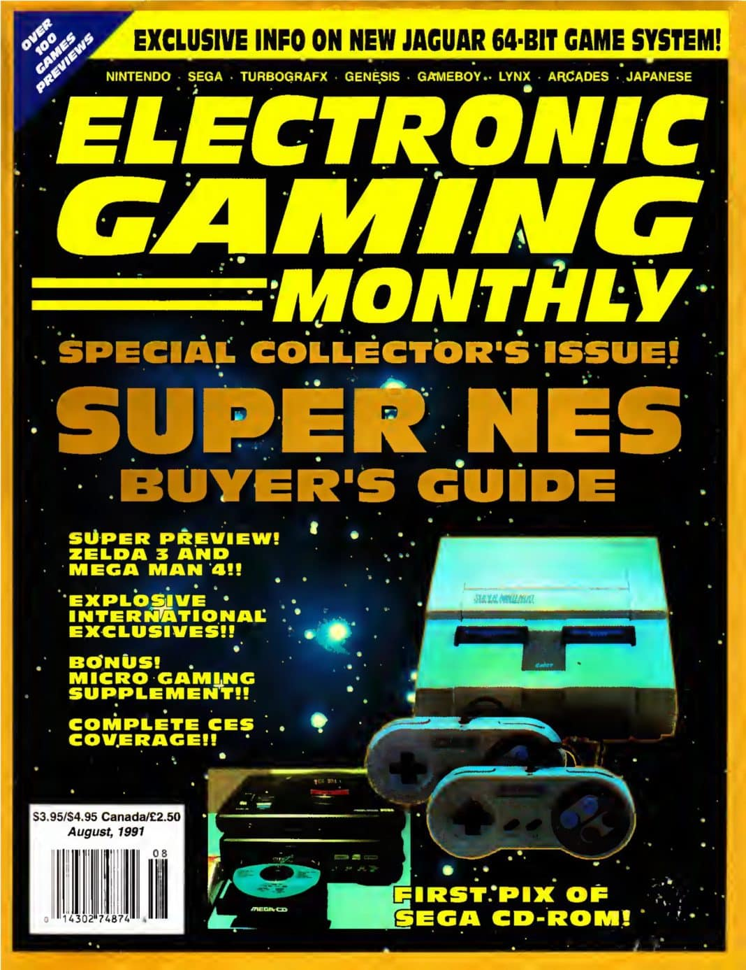 Electronic Gaming Monthly #25