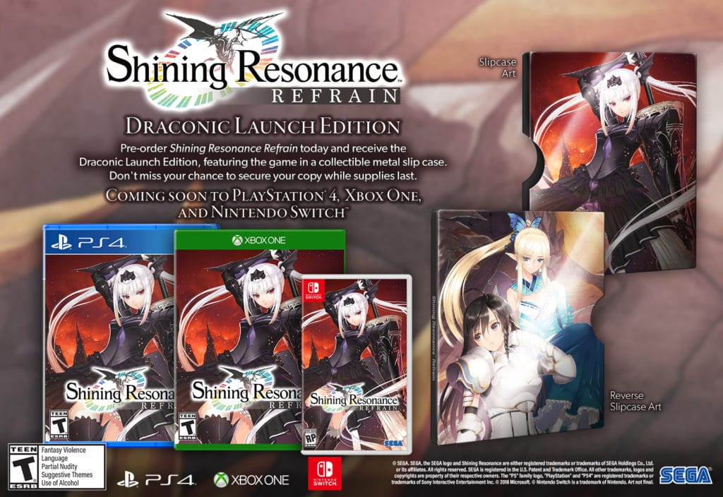 Shining Resonance Refrain shining resonance refrain - SRR glamshot US all SwitchRP 1519167050 1024x704 - Shining Resonance Refrain Coming This Summer to the West on PS4, Switch, Xbox One and PC