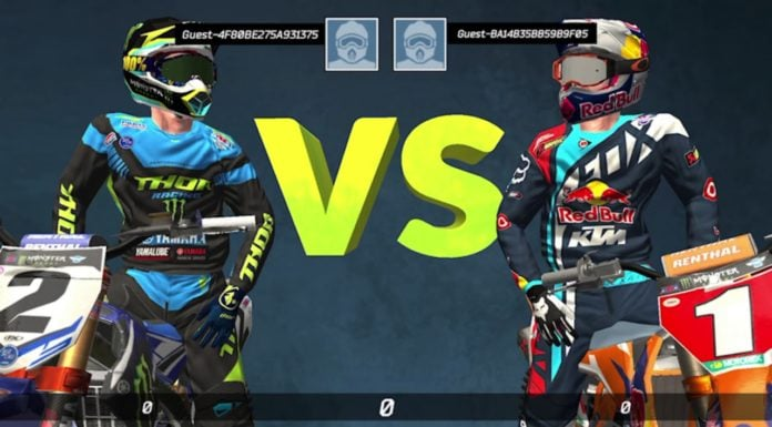 Monster Energy Supercross Mobile Game