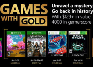 April 2018 Games With Gold