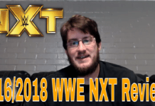 5/16/2018 wwe nxt review