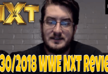 5/30/2018 WWE NXT Review